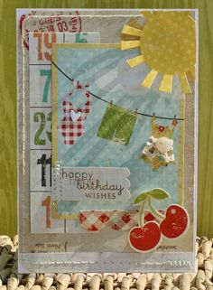 A Project by danni reid from our Scrapbooking Stamping Cardmaking Galleries originally submitted 07/18/11 at 08:37 AM