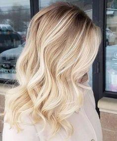 weißer Sand blonde balayage