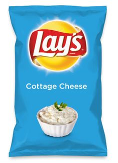 Wouldn't Cottage Cheese be yummy as a chip? Lay's Do Us A Flavor is back, and the search is on for the yummiest flavor idea. Create a flavor, choose a chip and you could win $1 million! https://www.dousaflavor.com See Rules.