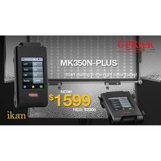 The UPRtek MK350N-PLUS is a lightweight, portable, easy-to-operate spectrometer with Wi-Fi remote control operations and SD card data storage. #production #equipment
