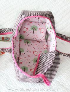 Baby Doll Basket - Gluesticks