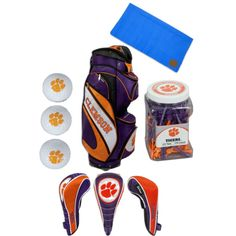 Clemson Golf Set, created by jewelrywarehouse on Polyvore