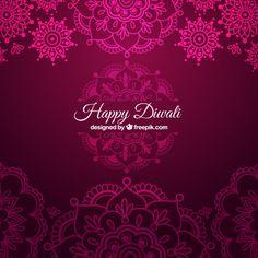 Ornamental Diwali background in pink color Free Vector Diwali Greetings, Diwali Wishes, Diwali Gifts, Happy Diwali Animation, Diwali Gift Hampers, Happy Diwali Photos, Medicine Logo, Navratri Wishes, Creative Business Cards