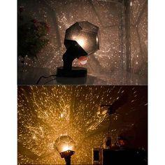 Romantic Planetarium Astro Star Laser Projector Cosmos Bedroom Fantastic Night Light Lamp Children Gift Alternative Measures