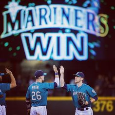Now thats a pretty picture. #Mariners