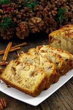 You will find here various recipes mainly traditional Romanian and Mediterranean, but also from all around the world. Apple Cinnamon Loaf, Cinnamon Apples, Romanian Desserts, Romanian Food, Pastry And Bakery, Pastry Shop, Loaf Cake, Sweet Tarts, Something Sweet
