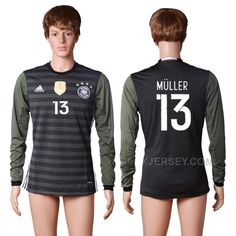 http://www.xjersey.com/germany-13-muller-away-long-sleeve-thailand-soccer-jersey.html GERMANY 13 MULLER AWAY LONG SLEEVE THAILAND SOCCER JERSEY Only $35.00 , Free Shipping!