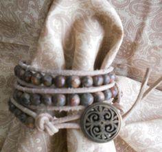 Triple Wrap Bracelet by MomentsofChaos on Etsy