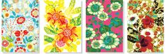Flowerful – greeting cards by Hanna Werning http://www.byhanna.com