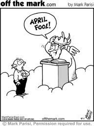 jokes  lol   I always knew God had a sense of humour...  :))