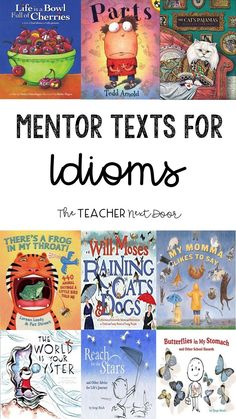 Fun Activities to Teach Idioms : Looking for some idiom activities to help you teach this type of figurative language? Fins lots of easy to use activities, like using mentor texts, your students will love! Idioms Activities, Language Activities, English Activities, Learning Activities, Reading Skills, Teaching Reading, Teaching Tips, Reading Intervention, Reading Lessons