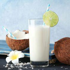 Cremiger Kokos-Eiweißshake