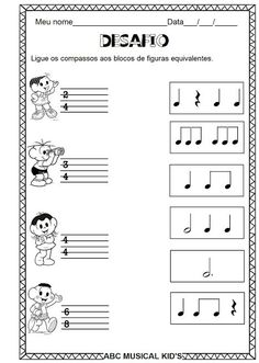 Piano Lessons, Music Lessons, Music Notebook, Music Education Activities, Music Theory Worksheets, Piano Teaching, Music For Kids, Elementary Music, Piano Sheet Music