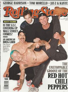 Rolling Stone magazine Red Hot Chili Peppers The Vampire Diaries Glen Campbell