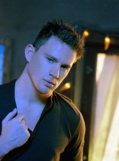 We love those short wet textured styles and faux hawks which were done perfectly on Channing Tatum.