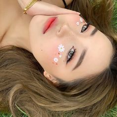 Kawaii Makeup, Cute Makeup, Glam Makeup, Pretty Makeup, Makeup Inspo, Makeup Art, Makeup Inspiration, Beauty Makeup, Unique Makeup