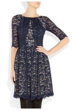 Erdem  Margot ruched lace dress