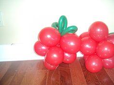 Balloon Decor - Strawberries