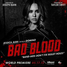 Clipe Bad Blood! #17deMaio