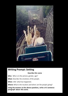 Doing this with historical images Photo Writing Prompts, Writing Pictures, Journal Writing Prompts, Writing Topics, Writing Classes, Creative Writing Prompts, Narrative Writing, Writing Lessons, Teaching Writing