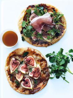 Fig and gorgonzola tart, Donna Hay Ricotta Tart Recipe, Tomato Tart Recipe, Tart Recipes, Appetizer Recipes, Appetizers, Dessert Recipes, Desserts, Heirloom Tomato Tart, Cheese Platter Board