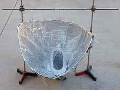 This is a great solar cooker plan developed by a crew at BYU. The website includes details, and cooking instructions.
