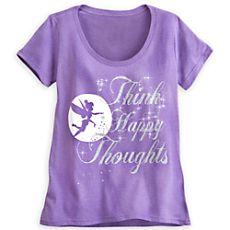 Tinker Bell Silhouette Tee for Women