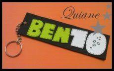 lembrancinha BEN 10 _ ARTE COM QUIANE - Paps, Moldes, E.V.A, Feltro e Costuras