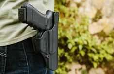 A completely redesigned release system and new cutting-edge material, the Blackhawk T-Series succeeds over the Serpa. Gun Holster, Holsters, Hand Guns, Gun Safes, Firearms, Weapons, Vehicle, Articles, Weapons Guns
