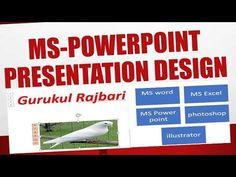 how to make wonderful ms powerpoint presentation (smartart) by gurukul!!