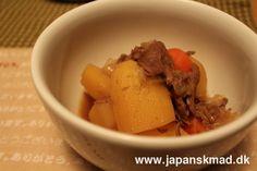 Niku jaga - japansk gryderet med oksegrydesteg - original japansk opskrift fra Japanskmad.
