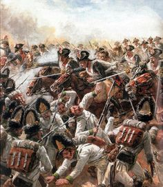 Charge of General Kellermann's cavalry at Marengo