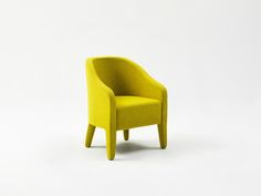 Nub Armchair by ESO. Available from Stylecraft.com.au Tub Chair, Contemporary Design, Accent Chairs, Armchair, New Homes, Lounge, Furniture, Home Decor, Upholstered Chairs