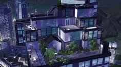 Myshuno Horizons - Luxury Sims 4 Penthouse