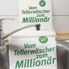 """Starter-Kit """"vom Tellerwäscher zum Millionär"""""""