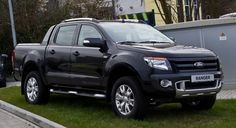 All-New Ford Ranger 2014 Black