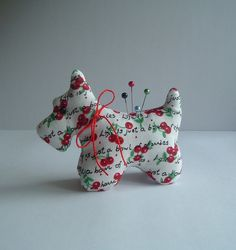 Sweet Scottie Dog Pincushion with Life is a by BluebirdMountain, $17.50