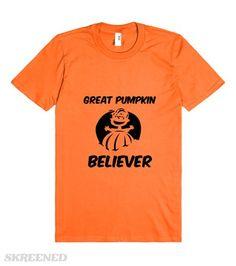 -30% OFF THIS WEEKEND!   Great Pumpkin Believer #Skreened