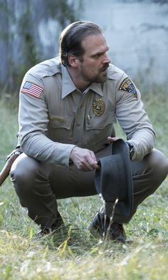 Jim Hopper Hawkins Police Chief Embroidered Iron Sew Patches from Netflix Stranger Things State Of Indiana DT Demogorgon Things Stranger Things Location, David Harbour Stranger Things, Stranger Things Chief Hopper, Watch Stranger Things, Stranger Things Aesthetic, Stranger Things Netflix, David Harbor, Charlie Swan, Indiana