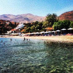 Agia Galini Beach in Agia Galini Rethimno Crete