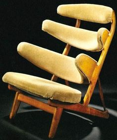 Poul Volther, 'Pyramid' chair for FDB, circa 1958.