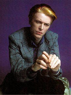1975 Schapiro Parting - David Bowie Photos