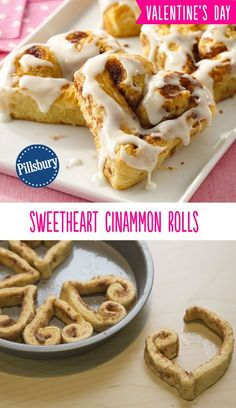 Nothing says I love you like heart-shaped cinnamon rolls! This fun treat for valentines day is super easy to make and is sure to impress all your loved ones.