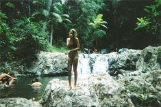 tropical swimming hole