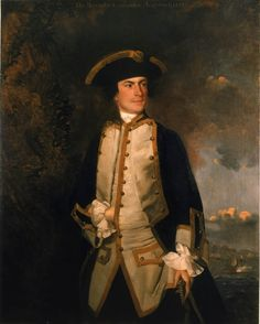 Portrait of Commodore Augustus Keppel Sir Joshua Reylolds Oil on canvas. Portrait of the younger English naval officer b. 1725 and first portrait by Reynolds painted on scene at Menorca, Spain. Thomas Gainsborough, William Hogarth, Dante Gabriel Rossetti, William Turner, Adam Ferguson, John Blake, Royal Navy Officer, Joshua Reynolds, L'art Du Portrait