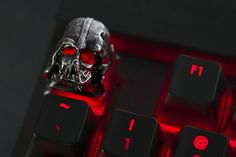 Get the lowest price on the Dark Lord Helmet Artisan Keycap and discover the best mechanical keyboards from the Mechanical Keyboards enthusiast community on Massdrop. Pc Parts, Key Caps, Gamer Room, Desk Makeover, Make Keys, Dark Lord, Electronic Art, Gaming Setup, Keyboard