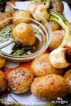 Onions & Potatoes Cambray #fotografia #gastronomia