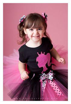 Barbie Girl Tutu Set by Snugabugtutus on Etsy, $49.99