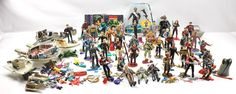 Star Trek Large vintage Mixed Action Figure & Playmates Lot