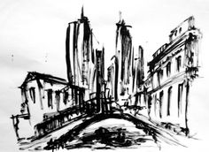 design by Federico Poletti  #sketch #blackink